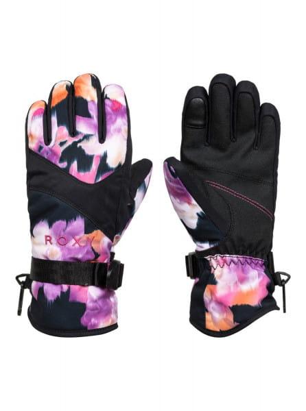 Розовые детские сноубордические перчатки roxy jetty
