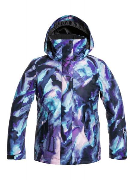 Коричневый детская сноубордическая куртка roxy jetty