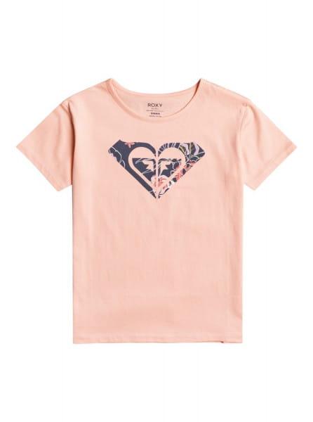 Розовый детская футболка day and night