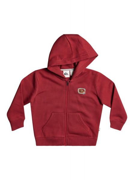 Красный детская толстовка на молнии big q 2-7