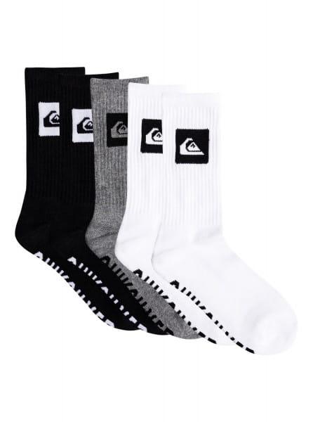 Черные высокие носки 5 pack (5 пар)