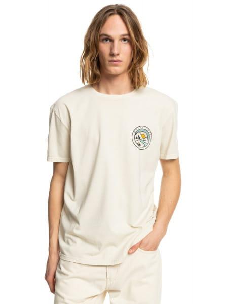 Бежевый футболка mountain view