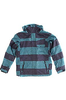 Куртка Quiksilver Mission System Printed Jacket Moroccan Blue