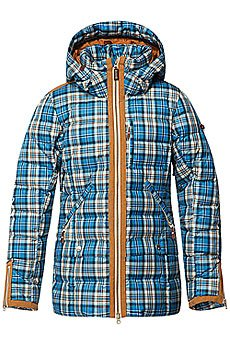 Куртка женская Roxy Torah Bright Influencer Jk Plaid Ocean Depths