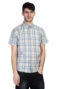 Рубашка в клетку Quiksilver Helsby Wvtp Bjn2 Faded Denim