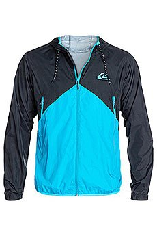 Ветровка Quiksilver New Wave Jacket Neon Blue