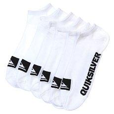 Носки низкие Quiksilver 3pk Bold Logo White