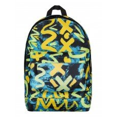Рюкзак городской Quiksilver Everyday Poster Bp Cave Rave Neon Yellow
