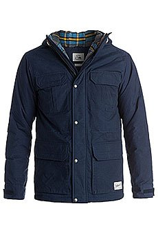 Куртка зимняя Quiksilver Long Bay Medieval Blue