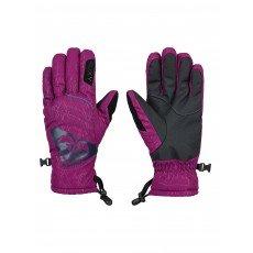 Перчатки сноубордические женские Roxy Popi Gloves Magenta Purple