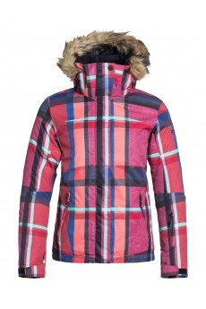 Куртка женская Roxy Jet Ski Jk J Snjt Mauna Plaid