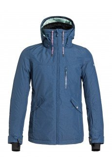 Куртка женская Roxy Wildlife Jk J Snjt Ensign Blue
