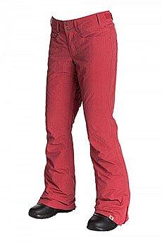 Штаны сноубордические женские Roxy Wood Run Pt J Snpt Pompeian Red