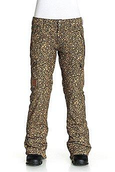 Штаны сноубордические женские DC Recruit Pt J Snpt Hebon Leopard