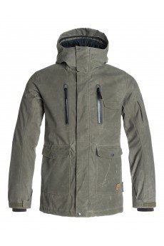 Куртка Quiksilver Dark Stormy Forest Night