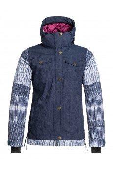 Куртка женская Roxy Ceder Jk Denim Blue