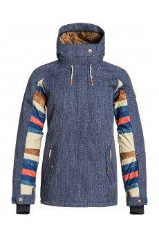 Куртка женская Roxy Lodge Denim Blue