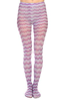 Колготки женские Roxy Pixeled Stripe Tight Magenta
