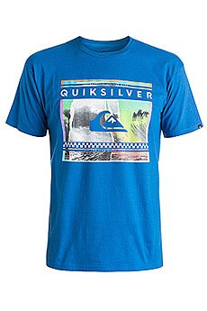 Футболка Quiksilver Class Tee Spra You Tees Turkish Sea