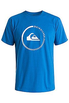 Футболка Quiksilver Clasactivecheck Tees Turkish Sea