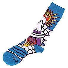 Носки высокие Lib Tech Wave Sock Blue