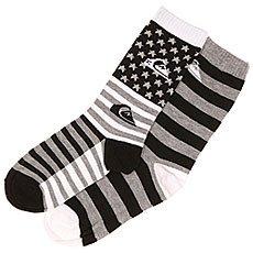 Носки средние детские Quiksilver All American 2 Pk. Black