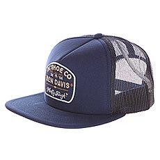 Бейсболка с сеткой DC Bd Tough Truckr Vintage Indigo