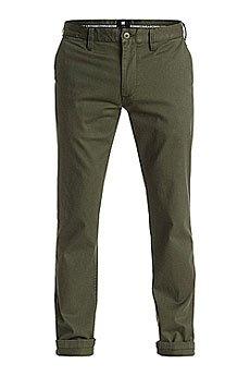Штаны узкие DC Wrk Slm Chno Ndpt Vintage Green