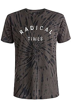 Футболка Quiksilver Radical Tiess Tees Dark Shadow