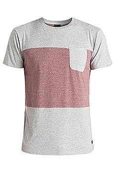 Футболка Quiksilver Capture Island Kttp Light Grey Heather