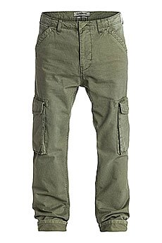Штаны прямые Quiksilver Everyday Cargo Ndpt Dusty Olive