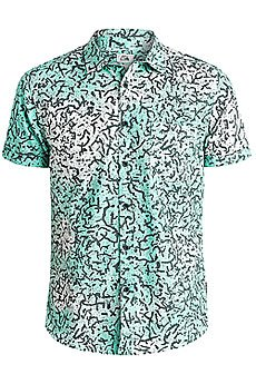 Рубашка Quiksilver Cracked Shirts Cracked Aruba Blue