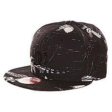 Бейсболка с прямым козырьком DC Realto Cruiser Island Black