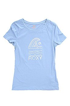 Футболка женская Roxy Itty Doty Wave J Tees Morning Sky