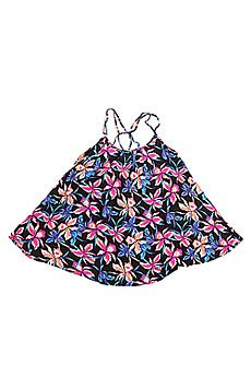 Платье женское Roxy Windy Fly Away J Cvup True Black Maui Ligh