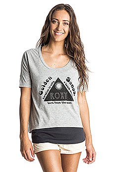 Футболка женская Roxy Parson J Kttp Heritage Heather