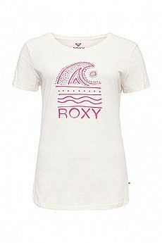 Футболка женская Roxy Itty Doty Wave J Tees Sea Spray