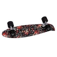 Скейт мини круизер Penny Nickel Floral Black 7.5 x 27 (68.6 см)