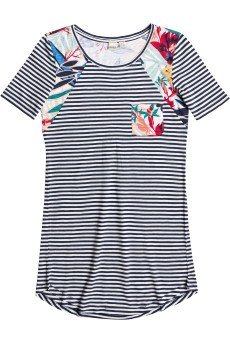 Платье женское Roxy Nautical J Ktdr Teeny Stripe Eclipse