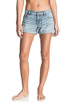 Шорты джинсовые женские Roxy Midtown Dnst Med Blue Wash