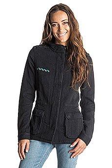 Куртка джинсовая женская Roxy Inthewind Jckt True Black