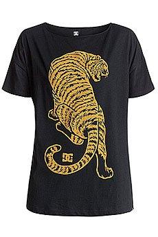 Футболка женская DC Tiger Attack Lo Tees Black