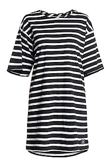 Платье женское DC Loose Dress Str Ktdr Black N White