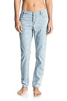 Джинсы широкие женские Roxy Burnin J Pant Vintage Light Blue