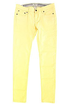 Джинсы узкие женские Roxy Suntrippers Col J Pant Golden Haze