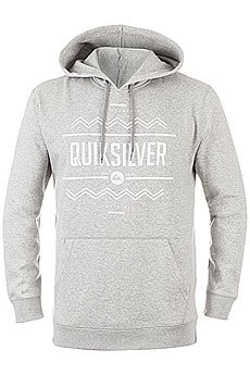 Толстовка кенгуру Quiksilver Hrymmarvista Otlr Athletic Heather