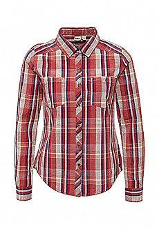 Рубашка в клетку женская Roxy Sneaky Wvtp Point Plaid Combo To