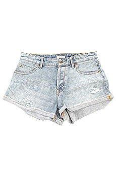 Шорты джинсовые женские Roxy Biker J Dnst Med Blue Wash