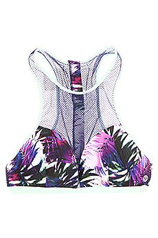 Бюстгальтер женский Roxy Sunset Halter J Sea Salt Jungle Time