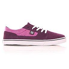 Кеды низкие женские DC Tonik Se J Shoe Purple Wine